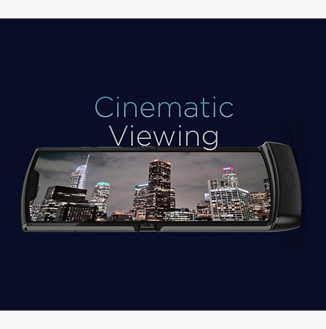 Cinematic Flex View display.