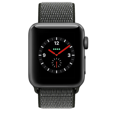 new style 6c49e 8a254 Apple® Watch Series 3 Aluminum 42mm Case with Sport Loop