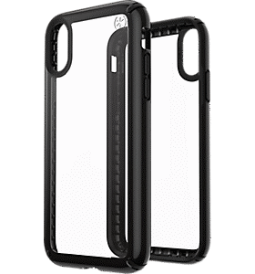 clear iphone 7 phone case with black rim
